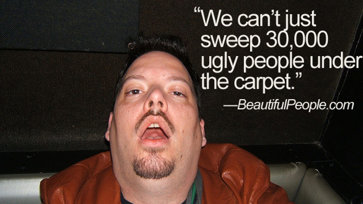 Dating website for ugly people