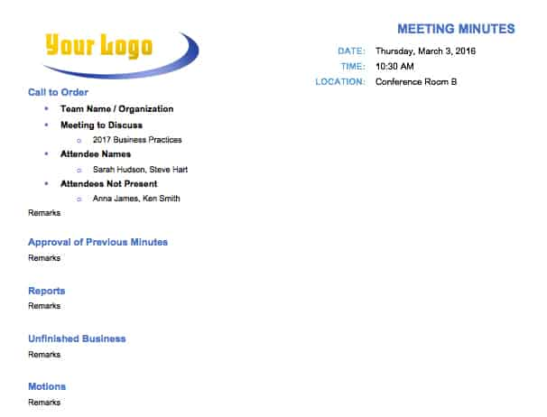 Top up bottom down meeting format