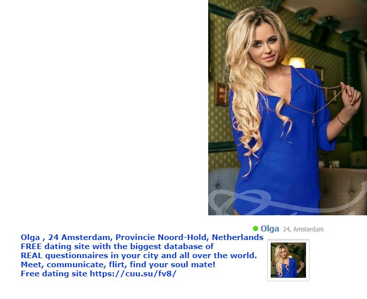 Free dating site in netherlands
