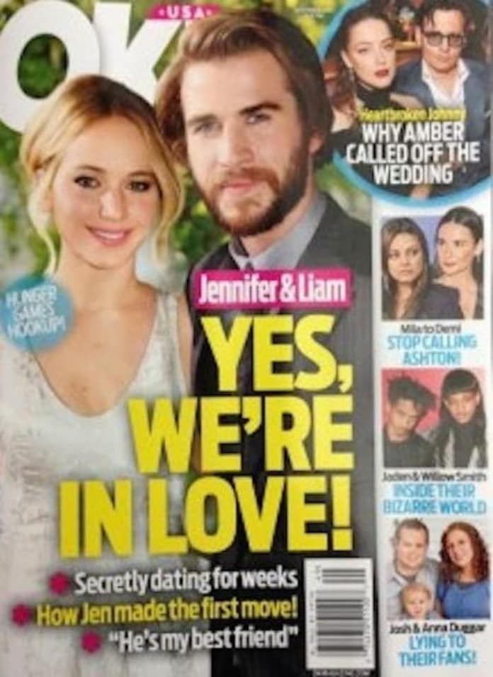 Are jennifer lawrence and liam hemsworth dating