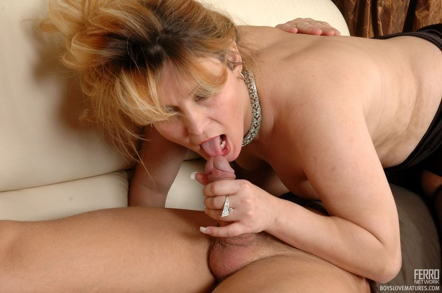 Mature mom fucked by her son