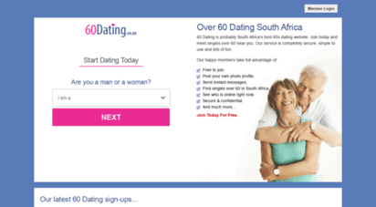 Free dating services in south africa