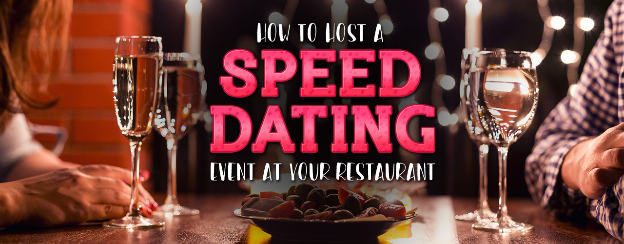Speed dating how to organize