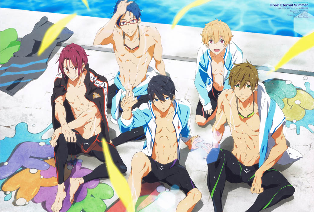 Free iwatobi swim club anime