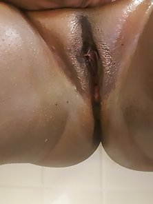 Black fat shaved pussy pics