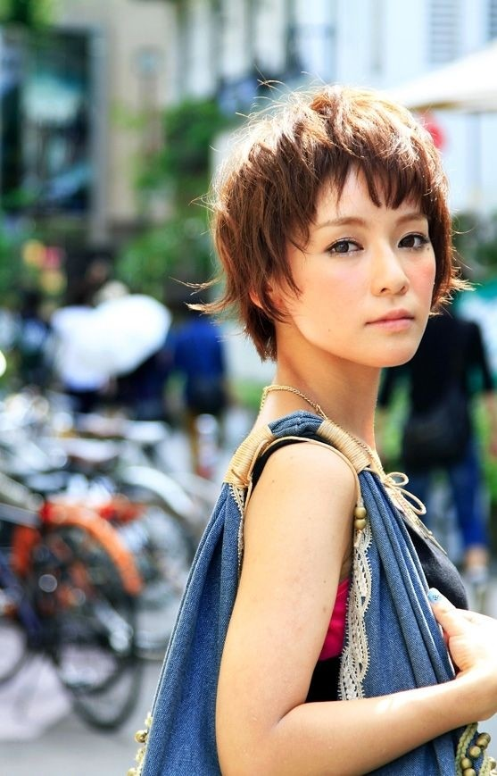 Supershort hair cuts for asian women
