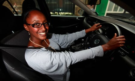 Driving lessons for mature learners